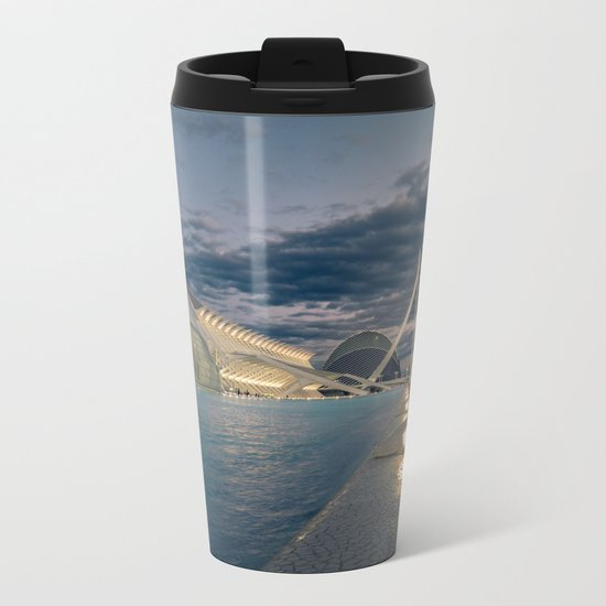 City of Arts and Sciences Metal Travel Mug