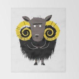 Ram Throw Blanket