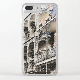New Orleans Throwback Clear iPhone Case