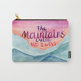 The Mountains Called Carry-All Pouch