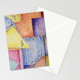 Time to look outside the box Stationery Cards