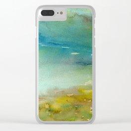 Landscape #2 Clear iPhone Case