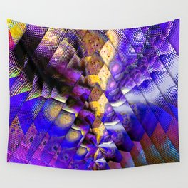 colorful snk triangles Wall Tapestry
