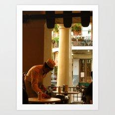 Cafe Du Monde NOLA. Art Print