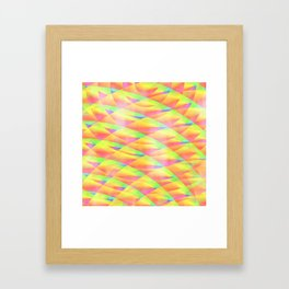 Bright Interference Framed Art Print