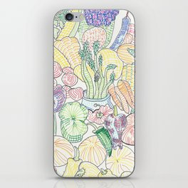 Vegetable Cornucopia iPhone Skin