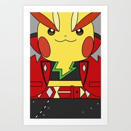 Rock Star Cosplay ORAS Art Print