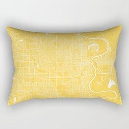 Omaha map Nebraska Rectangular Pillow
