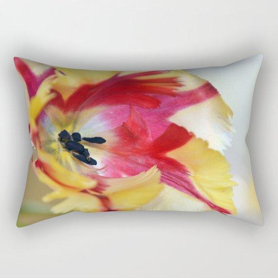 A tulip like a painter's palette Rectangular Pillow