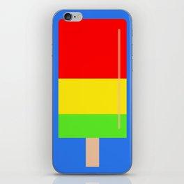 Popsicle fun art iPhone Skin