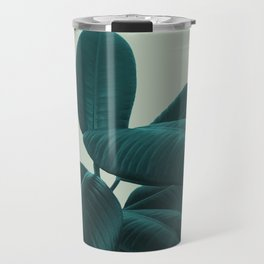 Ficus Elastica #8 #GreenLily #decor #art #society6 Travel Mug