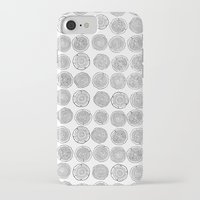 tree rings iPhone & iPod Cases featuring Tree Rings by Andrew Stephens