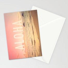 Aloha Lanikai Sunrise Stationery Cards