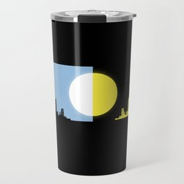 Moon and sun Travel Mug