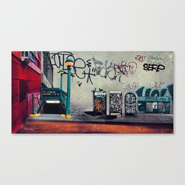 The New York Underground Canvas Print