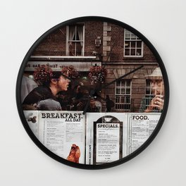 Coffee talk Wall Clock