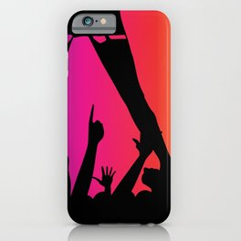 Entertainer With Audience iPhone Case