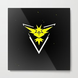 instinct logo Metal Print