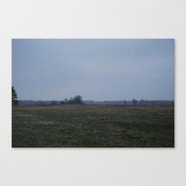Night Field Canvas Print