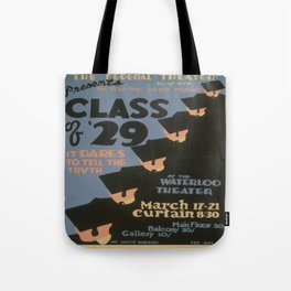 Vintage poster - Class of '29 Tote Bag