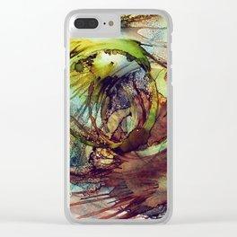 DANDELION WINE Clear iPhone Case
