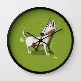 Farting Dog Wall Clock