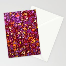 Straw Flowers in the Field Stationery Cards