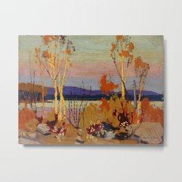 Tom Thomson Birches 1916 Canadian Landscape Artist Metal Print