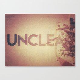 unclear? unclean? both? you decide Canvas Print
