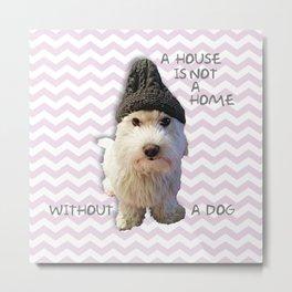 Cute Dog Metal Print