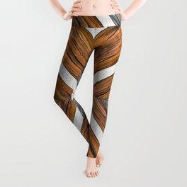 Tribal Wood Leggings