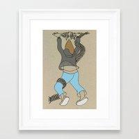 atlas Framed Art Prints featuring Atlas by Madmi