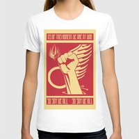 battlestar galactica T-shirts featuring So say we all - Battlestar Galactica by Tudisco