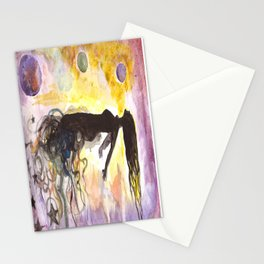 Alien Abduction Stationery Cards
