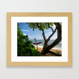 Bikini Beach  Framed Art Print