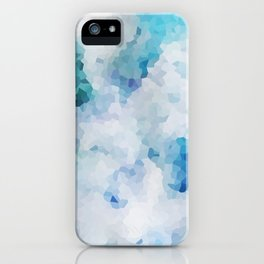 Foliage Crystals iPhone Case