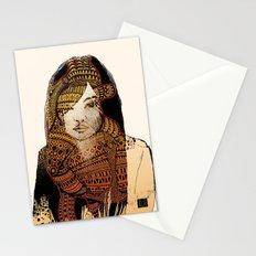 Native girl Stationery Cards
