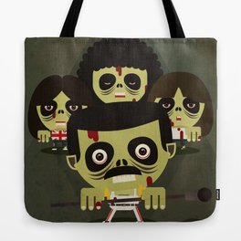 queen zombies Tote Bag