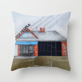 Untitled - The People  Throw Pillow