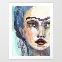 Frida Forever by Jane Davenport Art Print