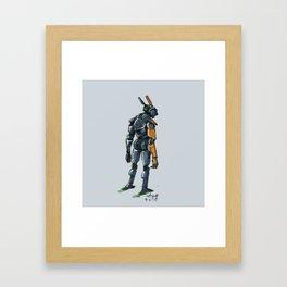 Chappie Framed Art Print