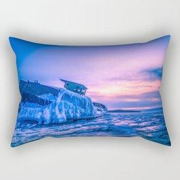 Frozen boat Rectangular Pillow