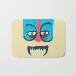 Hello teeth! Bath Mat