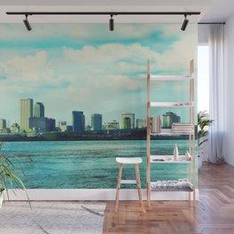New Orleans Skyline Wall Mural