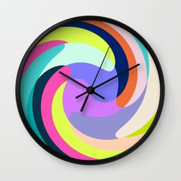 mood twirl Wall Clock