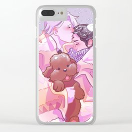 Viktuuri winter hug Clear iPhone Case