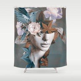Floral Portrait 11 Shower Curtain