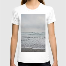 a stormy Pacific Ocean, Oceanside, California T-shirt