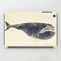 the whale iPad Cases featuring Whale by Zach Terrell