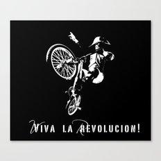 Viva La Revolucion BMX Canvas Print